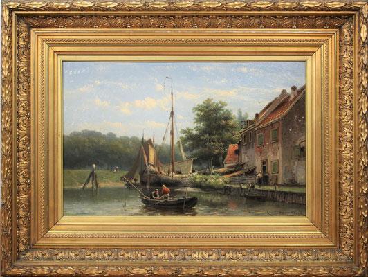 Johannes Hermanus Barend Koekkoek (1840-1912) | 3e Generatie Koekkoek | Taxatiewaarde: 12.000,= euro | MAAK EEN AFSPRAAK OF DOE EEN VRIJBLIJVEND BOD!