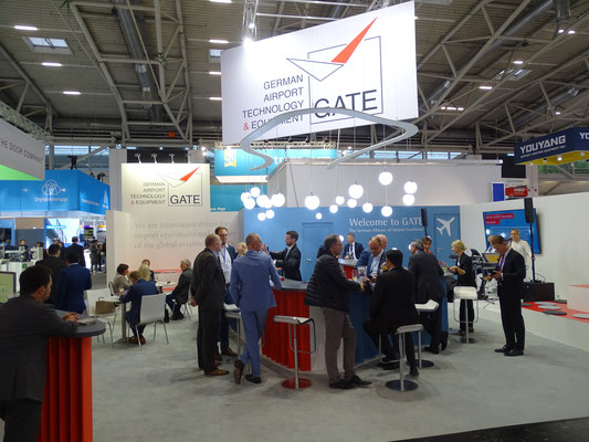 GATE Exhibition stand