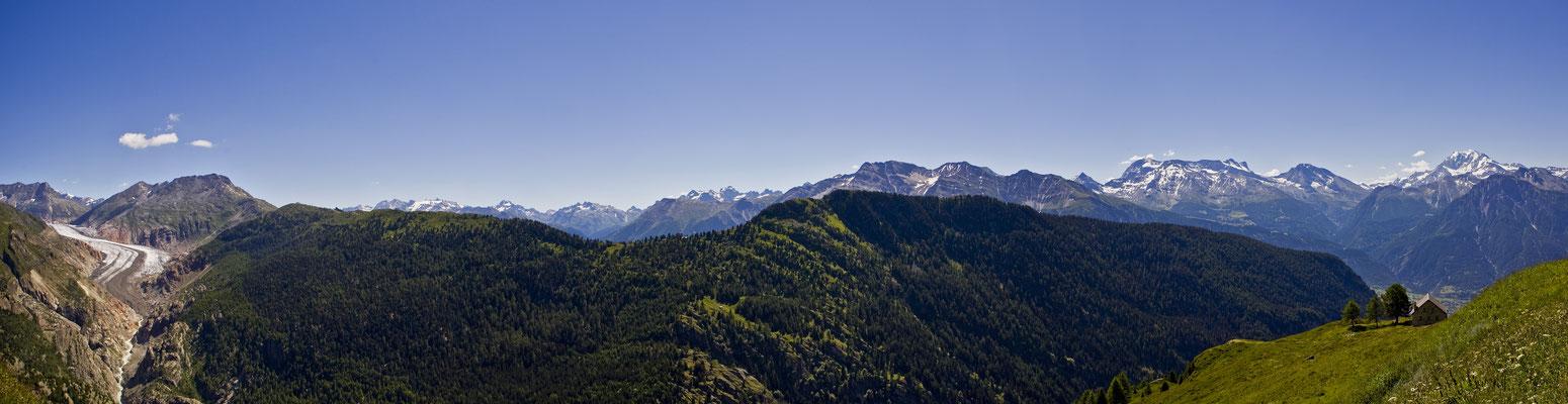 Aletschgletscher - Schweiz