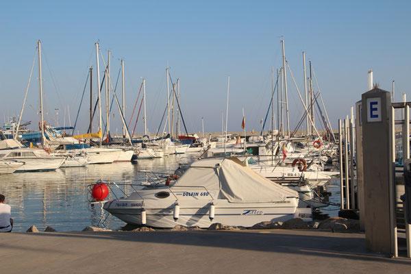 Sporthafen von Algarrobo Costa