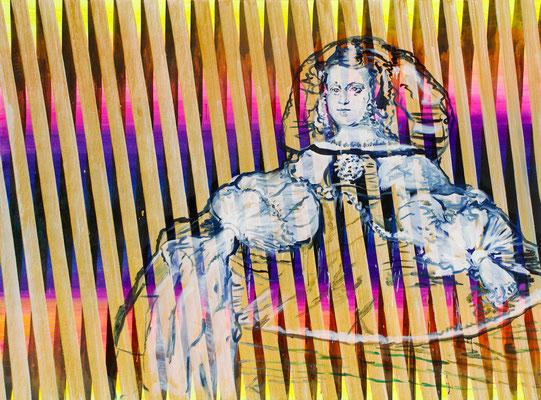 """WOLLEN WIR?    //   71"""" x 94,5"""" (180 x 240 cm), oil on canvas, 2011"""