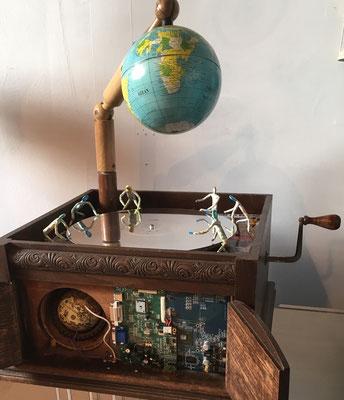 Skulptur: Grammophon