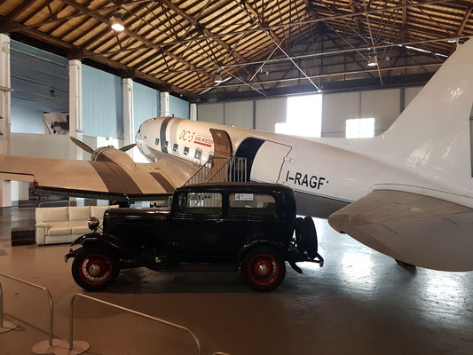 Nach dem Wettbewerb wurde noch das Luftfahrtmuseum Volandia besichtigt