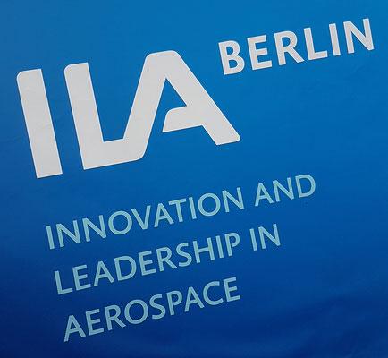 """""""Innovation and Leadership in Aerospace"""" seit Jahren das Motto des Messe die dieses auch in Kurzform als Namen trägt"""