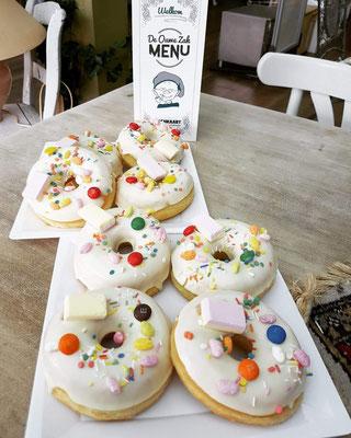 Smartie donuts