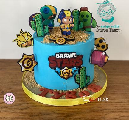 brawstars taart