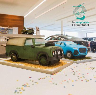 Range Rover & Jaguar, #3dJaguartaart #jaguartaart #rangerovertaart #rangerover