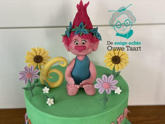 Poppy Trolls taart #trollstaart #trolls #poppy