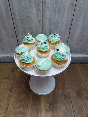 Cupcakes zee thema