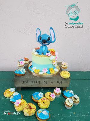 Stitch alowa taart