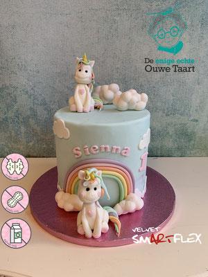 Unicorn taart