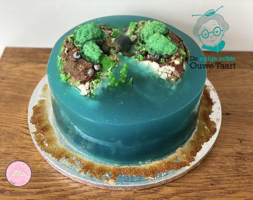 #islandcake #eilandtaart #gelatinetaart #halaltaart