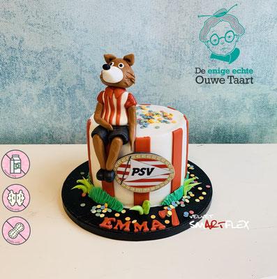 PSV Phoxy taart