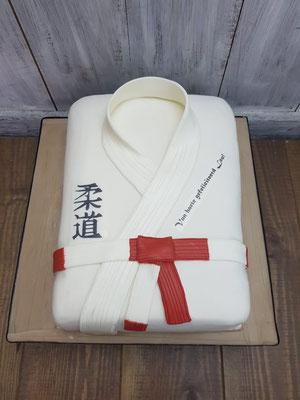 Judopak 3d taart