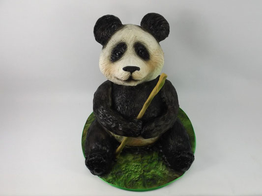 3d panda taart #3dpanda #pandataart