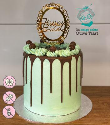 Glutenvrije dripcake met melkchocolade