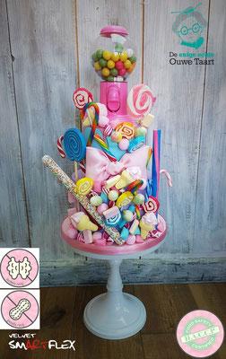 Candy cake, snoep taart