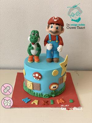 Mario & Joshi taart