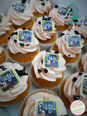 Flügel cupcakes