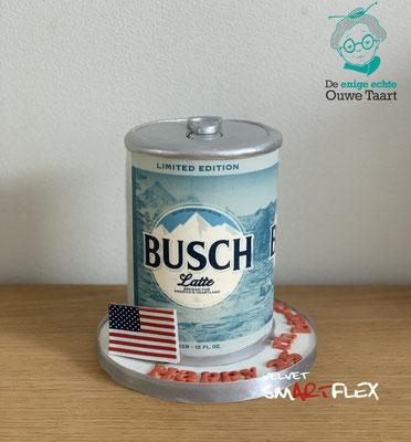 Busch koffie 3d taart