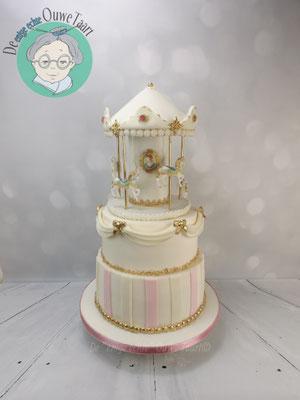 Carrousel bruidstaart