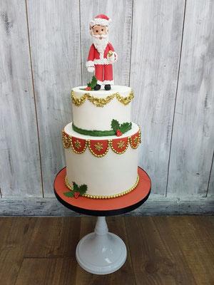 2 laags kerst taart