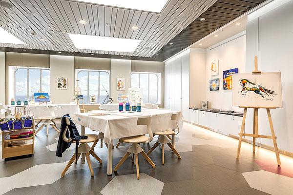 Galerie auf der Mein Schiff 6 von TUI Cruises