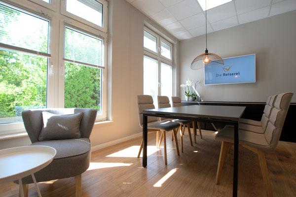 Tagungsbereich im Reisebüro in Berlin