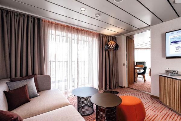 Deine Suite auf der MeinSchiff 2, von TUI Cruises