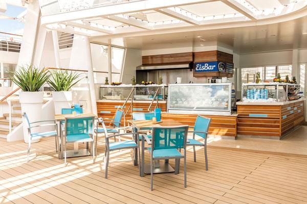 Eisbar auf der Mein Schiff 5 von TUI Cruises