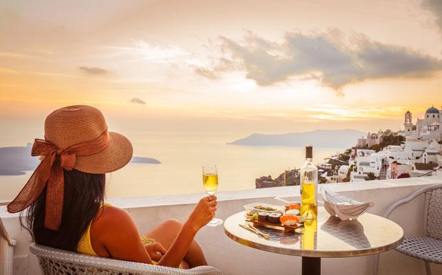 Erlebe Deinen exklusiven Urlaub auf Santorini! In Deiner Reiserei, Reisebüro in Berlin Brandenburg