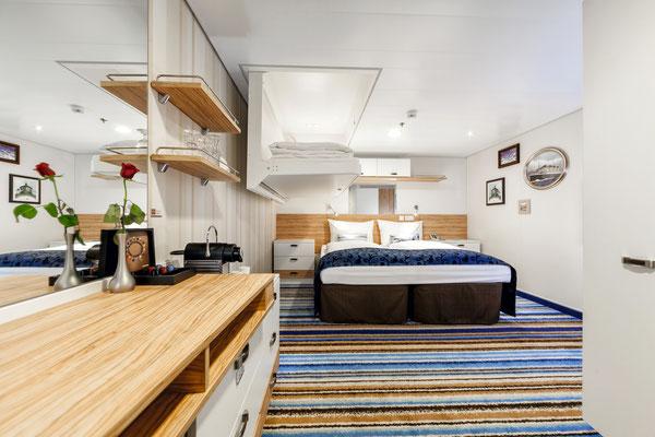 Deine Kabine auf der Mein Schiff 3 von TUI Cruises
