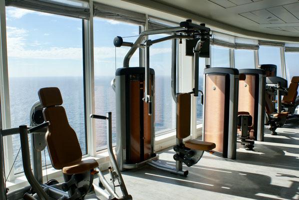 Fitnessraum & Sport auf der MeinSchiff 1, von TUICruises
