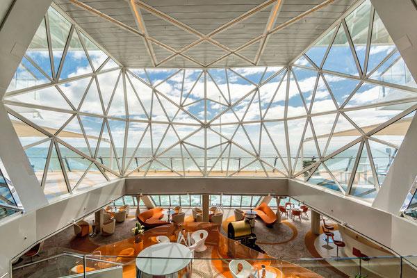 Diamant Lounge auf der Mein Schiff 3 von TUI Cruises