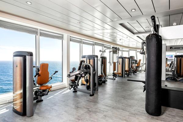 Fitnessraum & Sport auf der MeinSchiff 1, von TUI Cruises