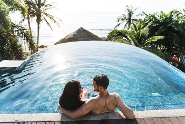 Hochzeitsreise, Flitterwochen, Traumurlaub mit Deinem Reisebüro