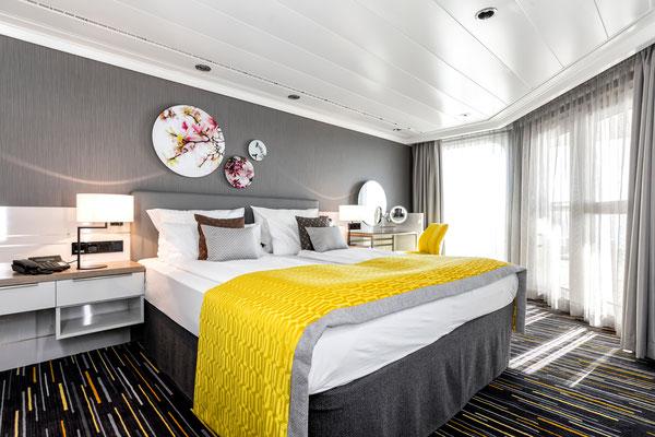 Kabine auf der MeinSchiff Herz, von TUI Cruises