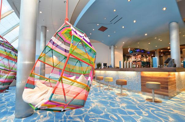 Lounge auf der MeinSchiff Herz, von TUI Cruises