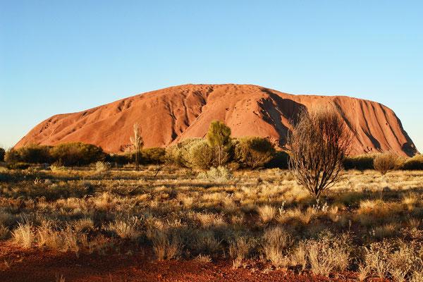 Der Uluru in Australien