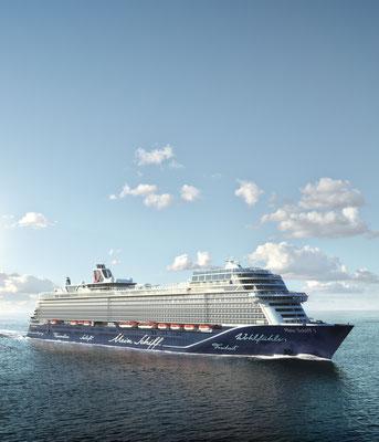 MeinSchiff 1, von TUI Cruises
