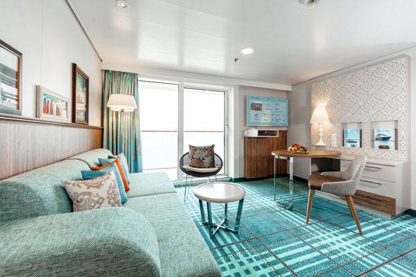 Deine Kabine, Deine Suite auf der Mein Schiff 4 von TUI Cruises