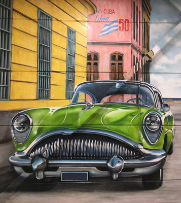 Buick car detail