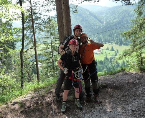 Klettersteig Oberösterreich : Klettersteig hexenkessel flying fox parcours abenteuerpur