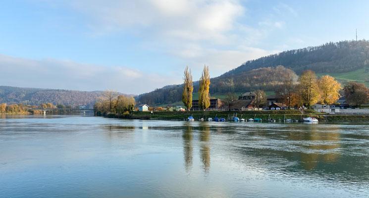 Der Bootssteg der Fischerzunft bei Laufenburg. (Foto CC)