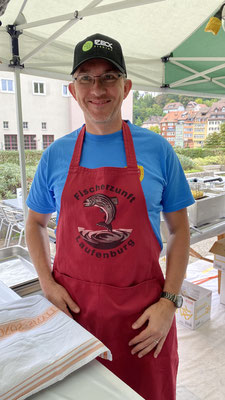 Fischessen Warteck September 2020. (Foto CC)