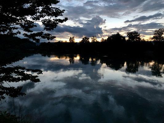 Und noch ein Bild von diesem bezaubernden Abend am Rhein. (Foto PC)