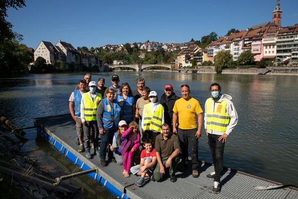 Rheinuferputzete / Clean-Up-Day September 2021. (Foto durch Fotograf IGSU)