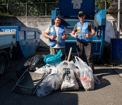 Rheinuferputzete / Clean-Up-Day September 2021. (Foto CC)