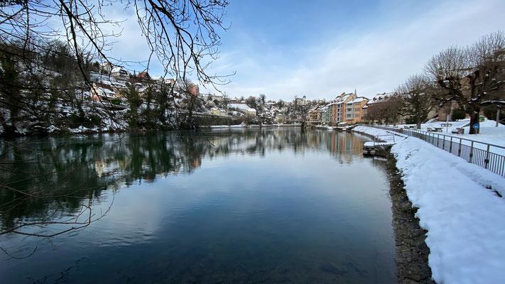 Badstube Laufenburg, 20.01.2021. (Foto CC)