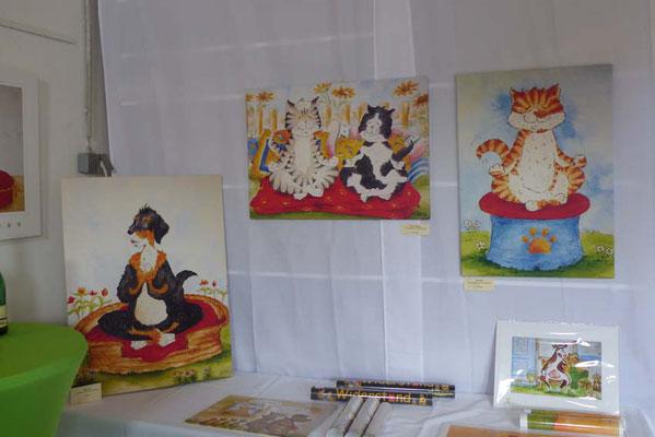 Kulturelle Landpartie im Atelier Clara